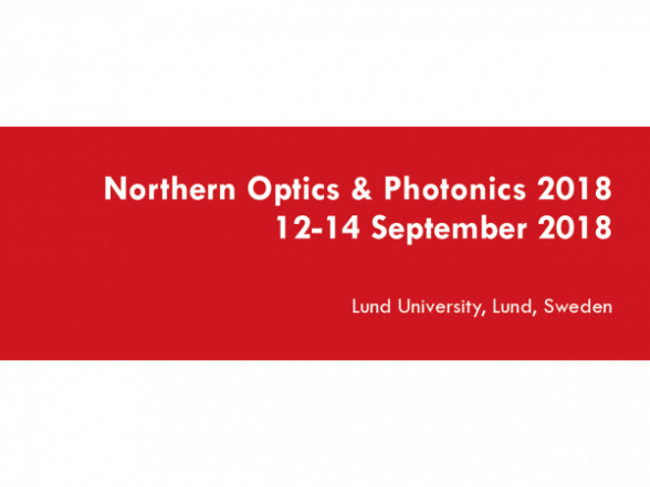 Northern Optics & Photonics 2018