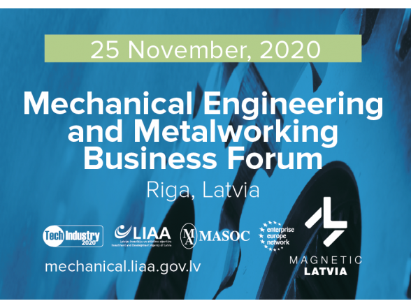 Mechanical Engineering and Metalworking Business Forum