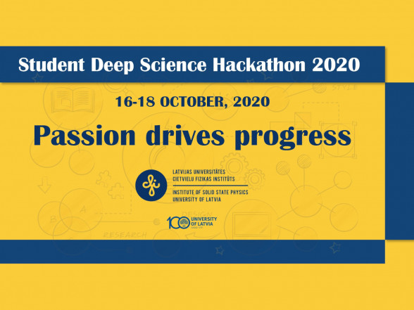 Student Deep Science Hackathon 2020